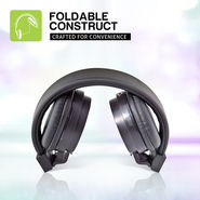Envent Premium Foldable Wired Headphone Beatz 501 ( Black )