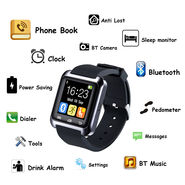 Shutterbugs (SB-01) Smart Touch Watch for Android & Ios - Black