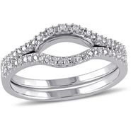 Kiara Swarovski Signity Sterling Silver Bhopal Ring_KIR1005