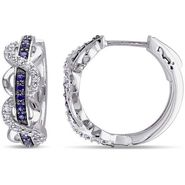 Kiara Swarovski Signity Sterling Silver Nagpur Earring_KIE0543