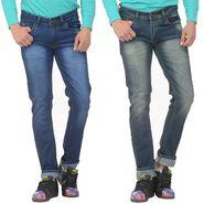 Pack of 2 Forest Plain Slim Fit Jeans_Jnfrt711 - Blue
