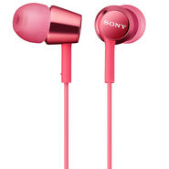 Sony MDR-EX150 In-Ear Earphones Without Mic (Light Pink)