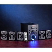 Envent Deejay 701 5.1 Home Audio Speaker - Black