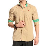 Good Karma Cotton Shirt_Bcs50674 - Beige