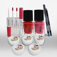 Anti Pimple Facial Kit 5pcs with 6pcs Cosmetic Kit