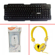 Envent Keyboard + Mouse + Musime Headphones Combo