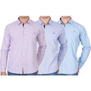 Pack of 3 Full Sleeves Casual Shirts For Men_12klp25klb218kprl