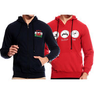 Pack of 2 Good Karma Full Sleeves Sweatshirts For Men_Skh2023