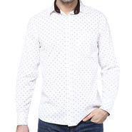 Crosscreek Full Sleeves Cotton Shirt For Men_1060312 - White