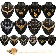Kriaa 14 Jewellery Set With Free Kada & One Payal_1002114