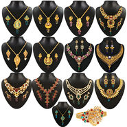Kriaa 13 Jewellery Set With Free Kada_1002142