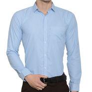 Being Fab Stripes Shirt For Men_Bfstrp102 - White & Green
