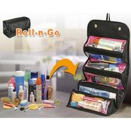 ROLL n GO Traveling Cosmetic Bag Black