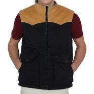 Levis Sleeveless Jacket For Men_Levisblkh - Black