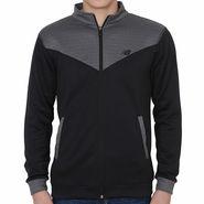 Slim Fit Jacket For Men_Nbdgrey - Dark Grey & Black