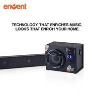 Envent Horizon 704 Pure Wood Bar Speaker (Black)