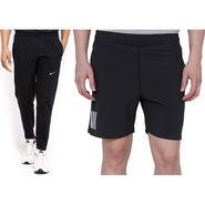 Combo of 1 Adidas Casual Short & 1 Nike Track Pant_Os004