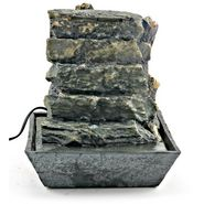 Slate Tiers Table Fountain-1309-0112