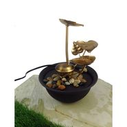 Metal fountain without LED light1412-0526