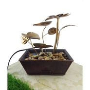 Metal fountain without LED light1412-0529