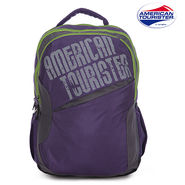American Tourister Backpack_Code 2 Purple