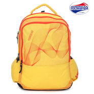 American Tourister Backpack_Code 7 Yellow