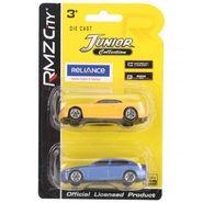 RMZ Die Cast Chevrolet Camaro & BMW M5 Car Toys Yellow & Blue - Pack Of 2 (4895065058389)