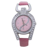 Adine Round Dial Analog Wrist Watch For Women_37pp03 - Pink