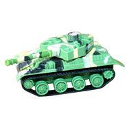 AdraxX Mini RC Military Toy Tank  - Green