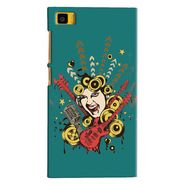 Snooky Digital Print Hard Back Case Cover For Xiaomi Mi3 Td11968