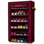 6 Layer Multi-Purpose Storage Rack Cum Shoe Rack With Cover - 6LYRACK
