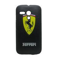 Snooky Black Designer Hard Back Cover For Motorola Moto G Td10228