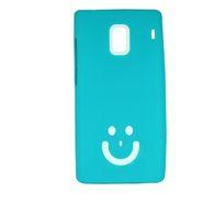 Snooky Aqua Smiley Back Case Cover For Xiaomi Redmi 1s  Td13182