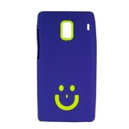 Snooky Purple Smiley Back Case Cover For Xiaomi Redmi 1s  Td13184