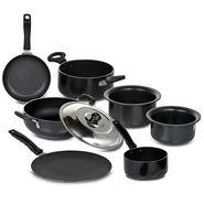 7 Pcs Non-stick + Hard Anodized Cookware Set