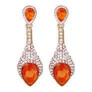 Vendee Fashion Stylish Earrings - Orange