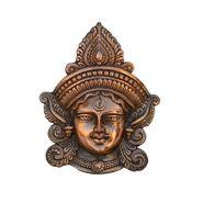 eCraftIndia Metal Goddess Durga Wall Hanging-AGD500