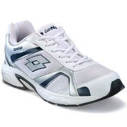 Lotto White & Navy Sports Shoes -AR3252