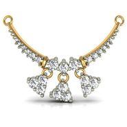 Avsar Real Gold & Swarovski Stone Raipur Mangalsutra_Avm006yb
