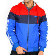 Adidas Men Full Sleeves Jacket_Adidas09 - Blue