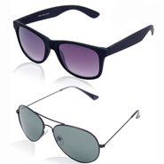 Pack of Aoito Wayfarer + Aviator Sunglasses