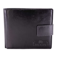Arpera Genuine Leather Wallet For Men - Black_C11440-1