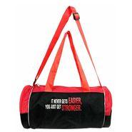 Protoner Gym Bag - It Never Gets Easier You Just Get Stronger