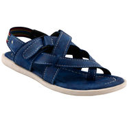 Bacca Bucci Leather  Sandal  Bbme6009B -blue