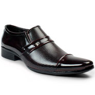 Bacca Bucci PU Maroon Formal Shoes -Bbmf7024M