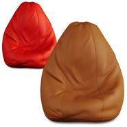 Storyathome Set of 2 Bean Bag Chair Covers XL Without Beans-BB_1404-1415-XL