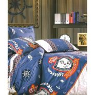 Amore Double BedSheet With 2 Pillow Cover-BDE10