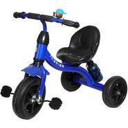 Kids Tricycle with Sipper and Bell - Blue