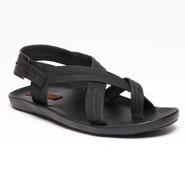 Bacca bucci Faux Leather Sandals - Black