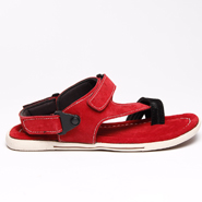 Bacca bucci Leather Sandals - Red-5555